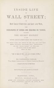 Inside life in Wall Street ...