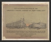 The buildings occupied by the Greenhut-Siegel Cooper Co., New York City