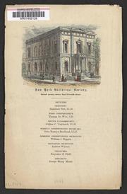 New York Historical Society...