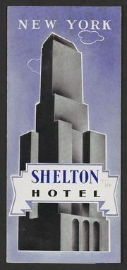 New York Shelton Hotel