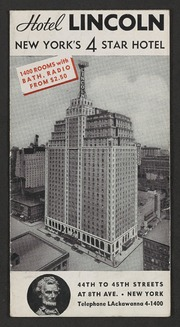 Hotel Lincoln : New York's ...