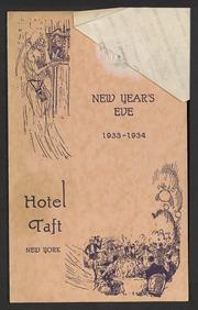 Hotel Taft, New York