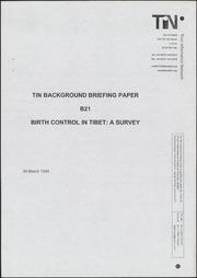 Survey of birth control pol...