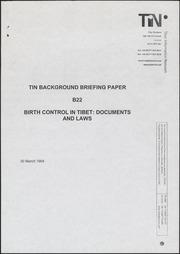 Documents on birth control,...