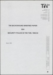 Security policy in the TAR,...