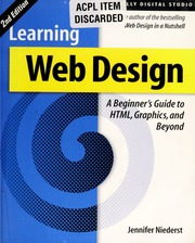 Learning Web Design Electronic Resource Html Graphics And Beyond Niederst Robbins Jennifer Free Download Borrow And Streaming Internet Archive