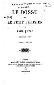 Le Bossu : ou, Le petit parisien