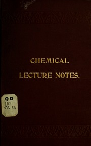 Lecture notes, on general chemistry : McGregory, Joseph