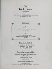 The Lee F. Hewitt Collection