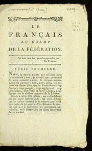 Le français au champ de la Fédération.