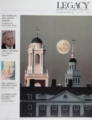 Legacy: Vol. 1 No. 5, November/December 1988