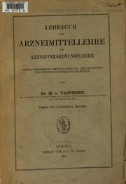 Lehrbuch der Arzneimittellehre und Arzneiverordnungslehre: Unter besonderer ...