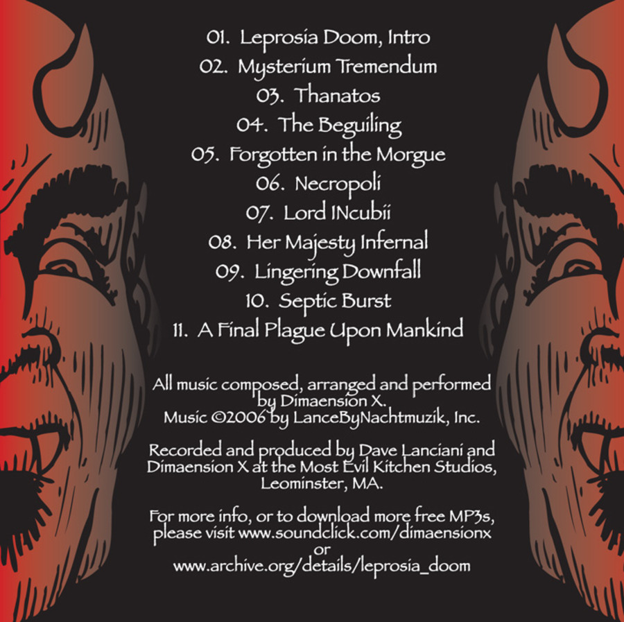 Leprosia Doom : Dimaension X : Free Download, Borrow, and Streaming