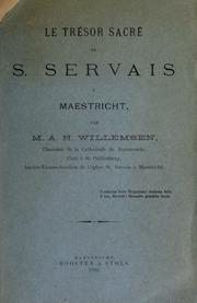 Le trésor sacré de S. Servais à Maestricht