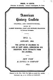 letter to luis de santangel