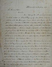 Letter from Joseph J. Mickley to Francis Lepire