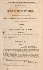 Letter from the Secretary o...