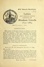 abraham lincoln letter to horace greeley analysis essay Controversy over the real meaning of abraham lincoln lincoln was one in a   lincoln's letter to horace greeley is seen by oates not as proof of hesitation.