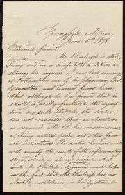 Letter to] Esteemed friend [manuscript