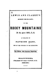 lewis and clacks journey to the rocky mountains Now that they had reached the crest of the rocky mountains,  of the entire journey while out hunting one day, lewis.