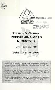 Lewis & clark performing arts directory, 2004