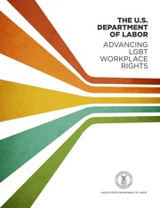 The U.S. Department of Labor: Advancing LGBT Workplace Rights