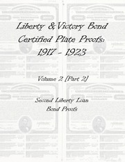 Liberty & Victory Bonds Certified Plate Proofs: 1917-1923 (vol. 2, part 2)