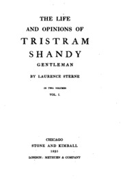 the life and opinions of tristam Buy the life and opinions of tristram shandy, gentleman by laurence sterne, joan new from waterstones today click and collect from your local waterstones or get free uk delivery on orders over £20.