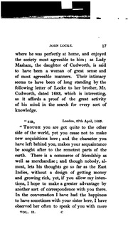the life and times of john locke Born at wrington, somerset, 29 august 1642 outbreak of the civil wars 1643 troops of col popham, locke's future patron, despoil wells cathedral 1645 defeat of charles i at naseby by oliver cromwell 1647 admitted to westminster school, london 1648 treaty of westphalia ends european thirty years' war 1649.