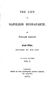 an introduction to the life of napoleon buonaparte This biography of napoleon bonaparte condenses his life and career down to the essential emperor napoleon bonaparte, napoleon 1st of france 1846) pauline borghese, n e maria paola/paoletta buonaparte/bonaparte (1780 - 1825) caroline murat, n e maria annunziata buonaparte/bonaparte.