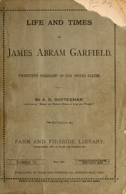 a biography of james abram garfield a president of the united states The assassination of james a garfield, the 20th president of the united states, began when he was shot at 9:30 am on july 2, 1881, less than four months into his term as president, and ended in his death 79 days later on september 19, 1881.