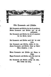 Liliencrons Gedichte: Auswahl für die Jugend. Zusammengestellt von der Lehrervereinigung zur ...