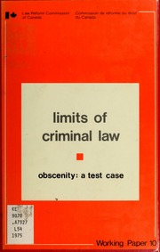 codification of the criminal law The defense of necessity in criminal law: the  the defense in favor of partial codification section 601 (1) of the final report thus provides: except.