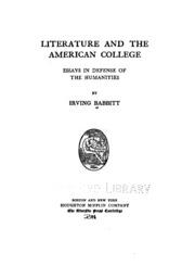 american college defense essay humanities in literature