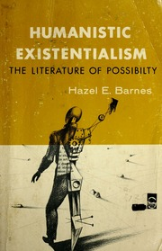 Existentialism and modern literature an essay in existential join waitlist sciox Image collections