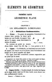 Éléments de géometrie: géomérie plane, géométrie dans l-espace : Contenant ...