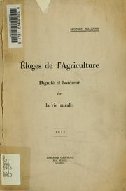 Éloges de l-agriculture : dignité et bonheur de la vie rurale