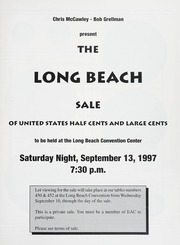 The Long Beach Sale of United States Half Cents and Large Cents