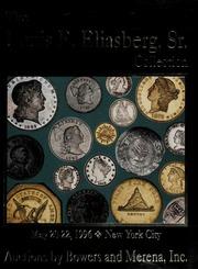 The Louis E. Eliasberg, Sr. Collection