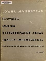 Lower Manhattan: recommende...