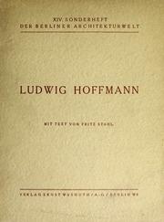 Ludwig Hoffmann;