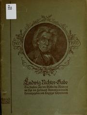 Ludwig Richter-Gabe : eine Auslese aus den Werken des Meisters