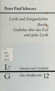 Lyrik Und Zeitgeschichte Brecht Gedichte über D Exil U
