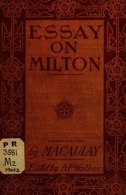 old milon essay