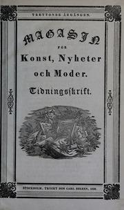 Magasin för konst, nyheter och moder, v. 13 (1836)