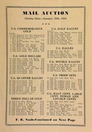 Mail auction ... [01/30/1945]