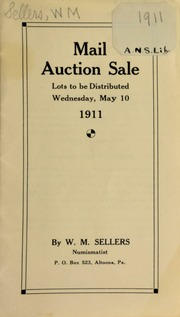 Mail auction sale ... [05/10/1911]