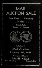 Mail auction sale : rare coins, currency, medals ... [02/07/1949]