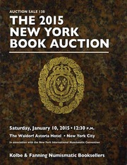 The 2015 New York Book Auction: Auction Sale 138 (pg. 120)