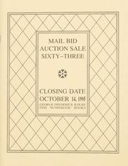 Mail Bid Auction Sale Sixty-Three